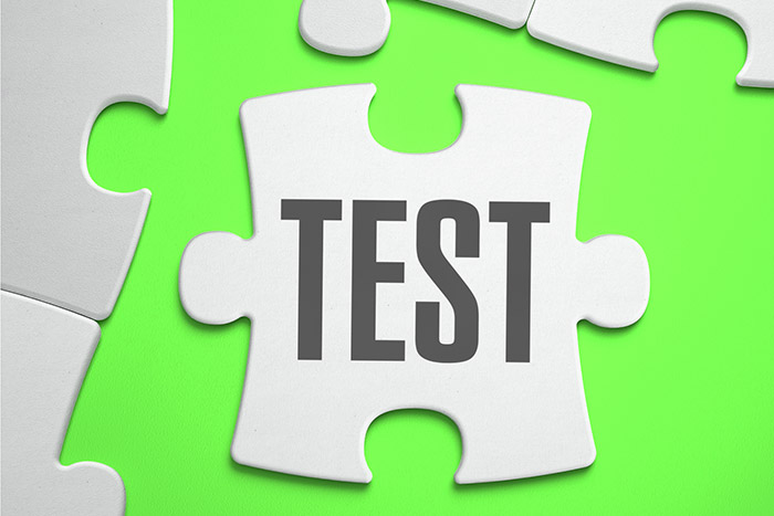 zestaw testowy